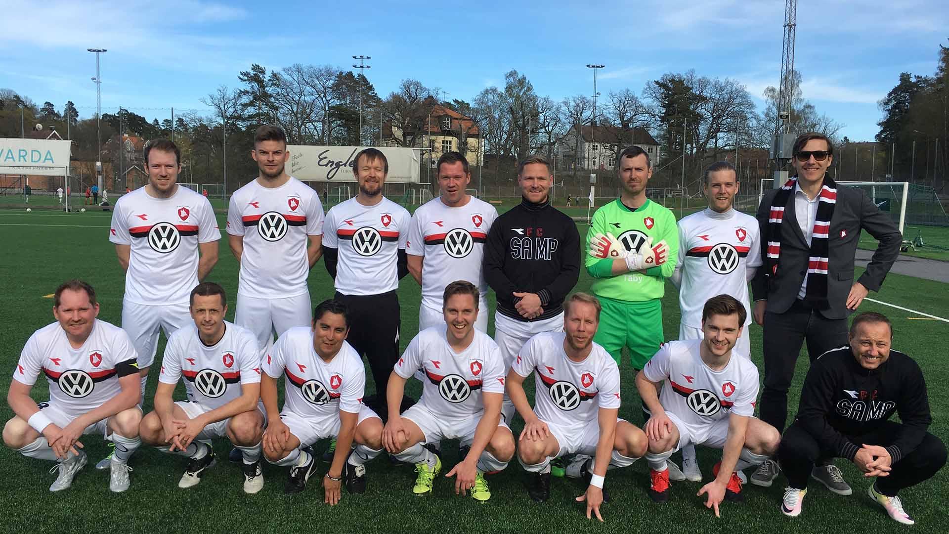 Matchrapport: FC Sampierdarenese – IFK Lidingö BK