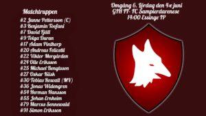 Inför: GIH FF – FC Sampierdarenese