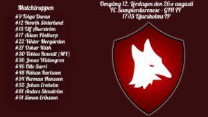 Inför FC Samp – GIH FF