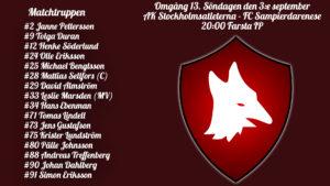 Inför: AK Stockholmsatleterna – FC Sampierdarenese