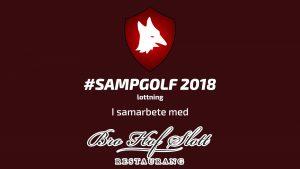 Sampgolf-lottning 2018