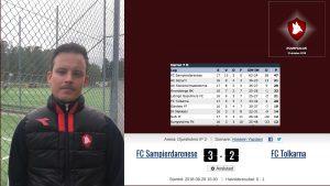 Matchrapport – säsongens sista hemmamatch