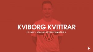 Inför omgång 5 – FC Samp mot Apollon Solna FK