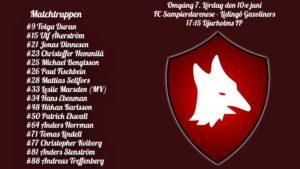 Inför FC Sampierdarenese – Lidingö Gazoliners