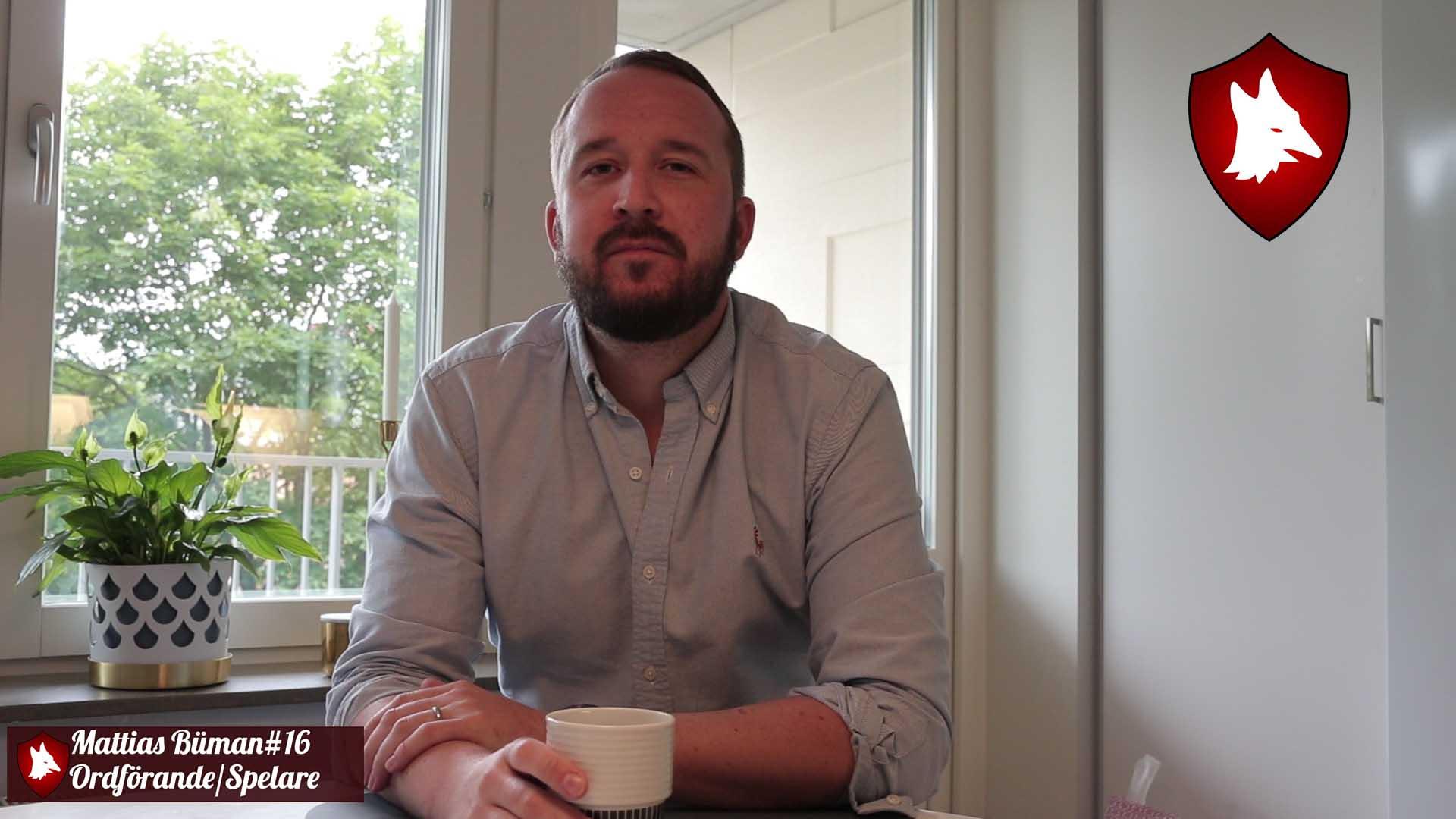 Ordförande Mattias Bümans sommarprat