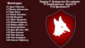 Inför: FC Sampierdarenese – Gärdets FF