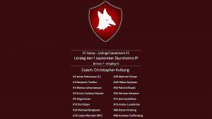 Inför omgång 13. FC Samp – Lidingö Gazoliners FC